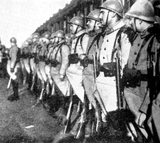maskingever fra 2 verdenskrig